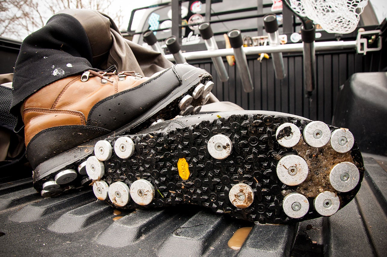 Rock Treads: The Latest In Wading Boot Traction