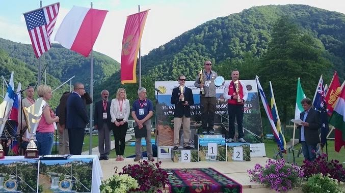 USA Takes Silver in Fly Fishing Championships