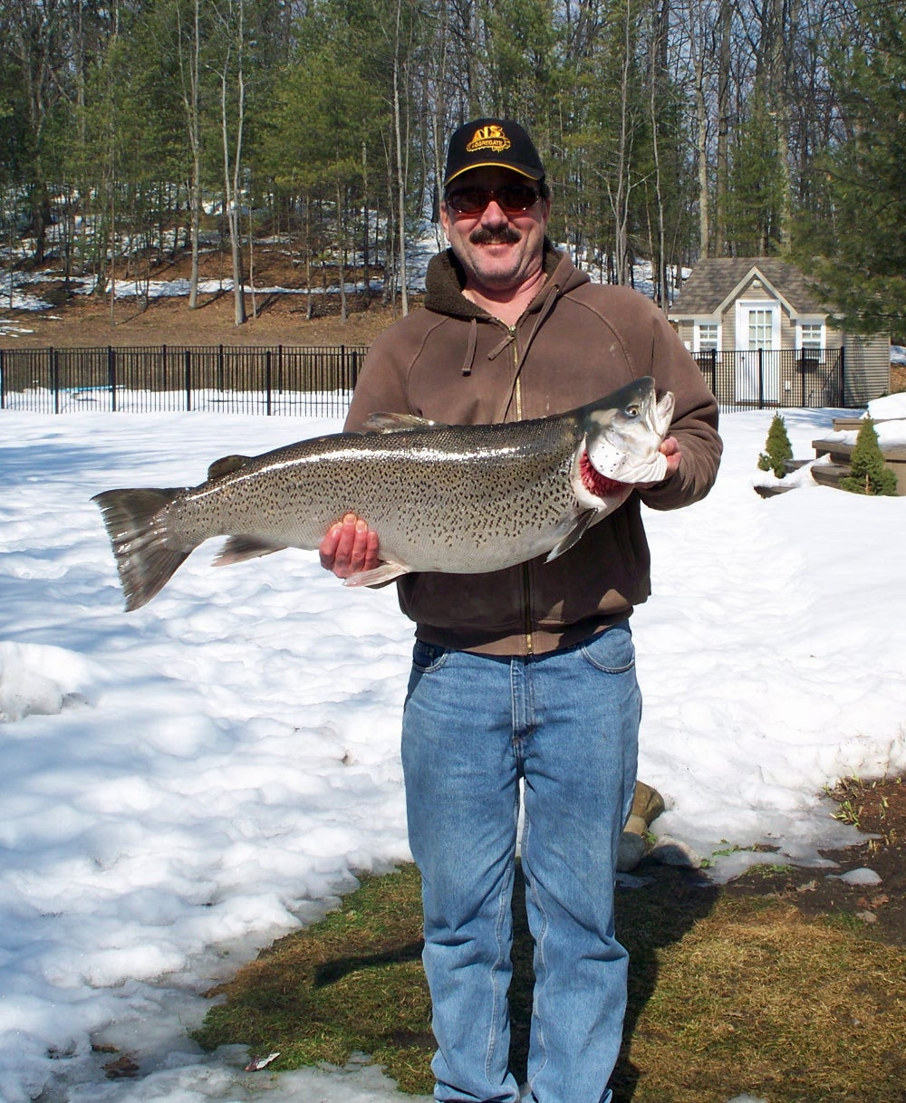 Is This Fish the New World-Record Landlocked Atlantic Salmon or a Trophy-Class Brown Trout?