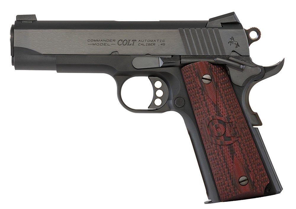 Colt Lightweight Commander Handgun