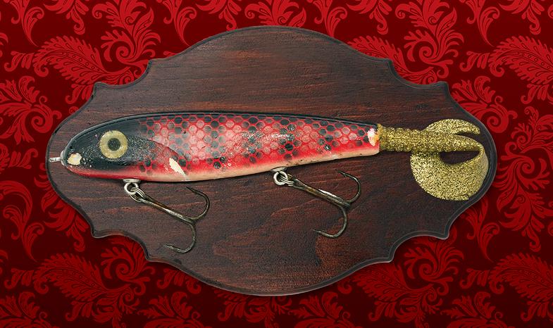 retired fishing lure