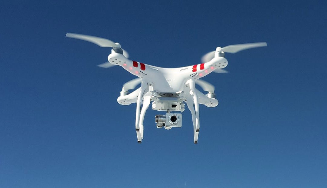 drones, hunting with drones,