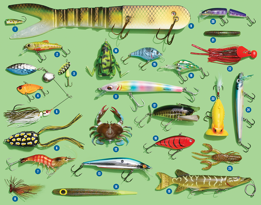 25 Best New Lures of 2015