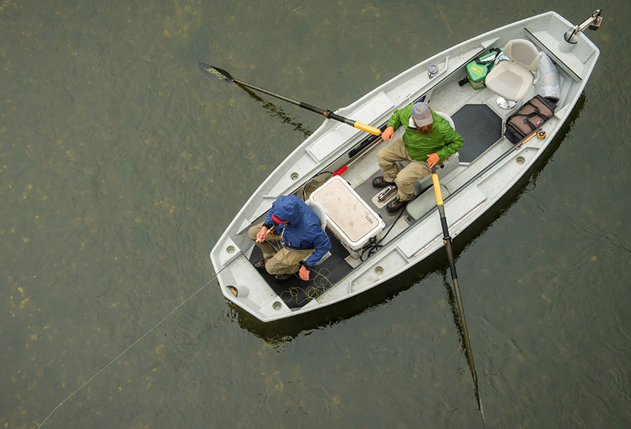 Three Rowing Tips to Reach More Trout
