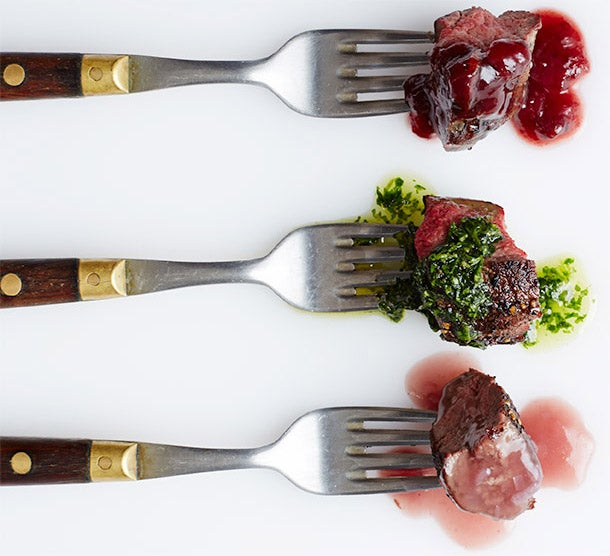 Three Great Sauces for a Venison Roast