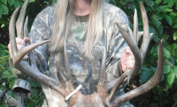 Bowhunting Mom Tags 200-class Whitetail, Could Be Wisconsin's New Women's Bow Record