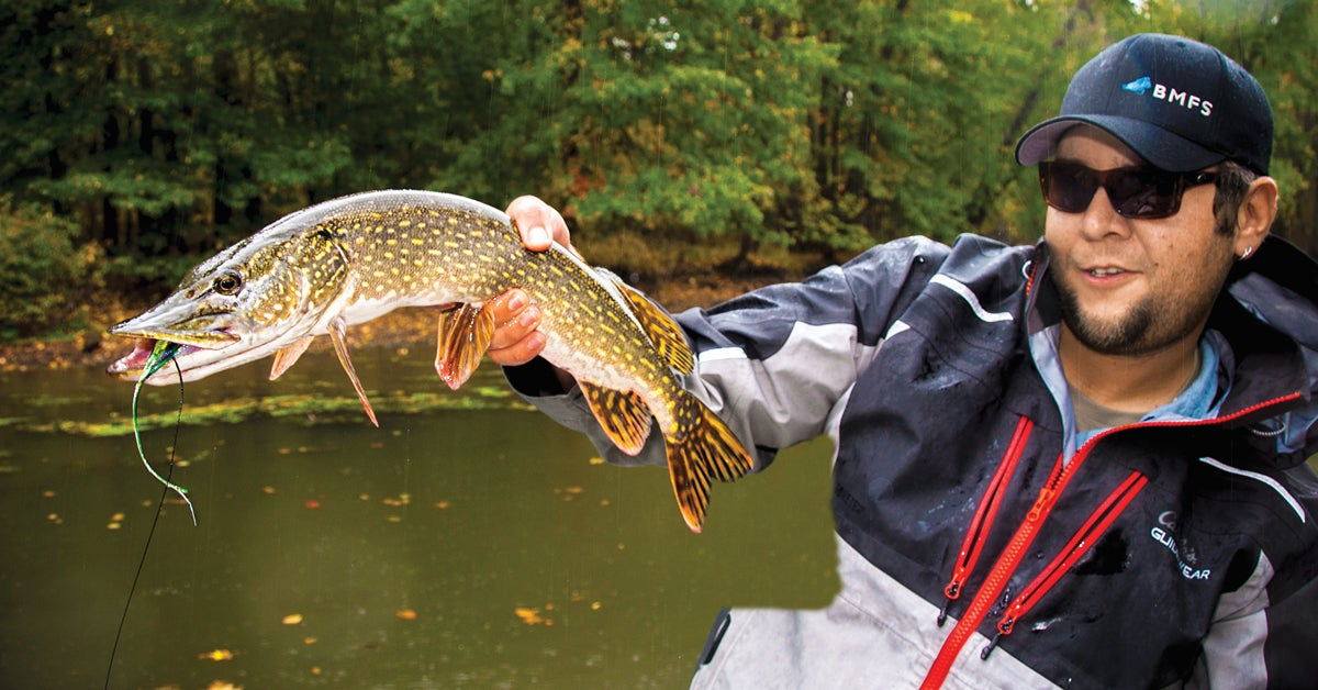 pike leader, pike fishing, pike fly fishing, fly fishing,