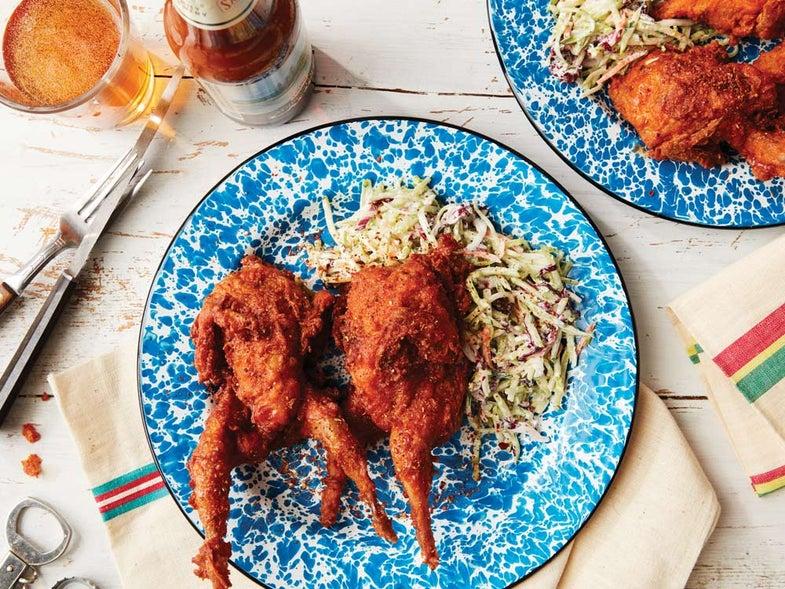 nashville hot fried quail recipe