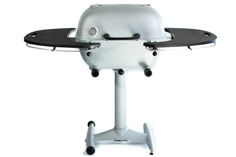 white grill and smoker from pk grills