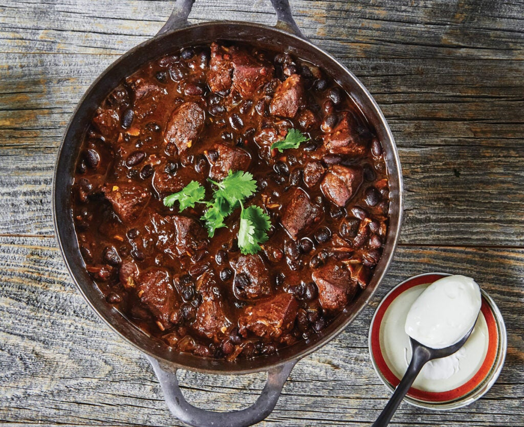 Bear and Blueberry Chili