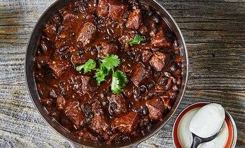 Recipe: Black & Blue Bear Chili