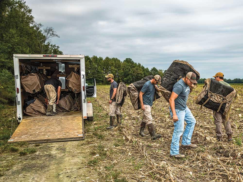 canadian geese bird hunting truck gear kits