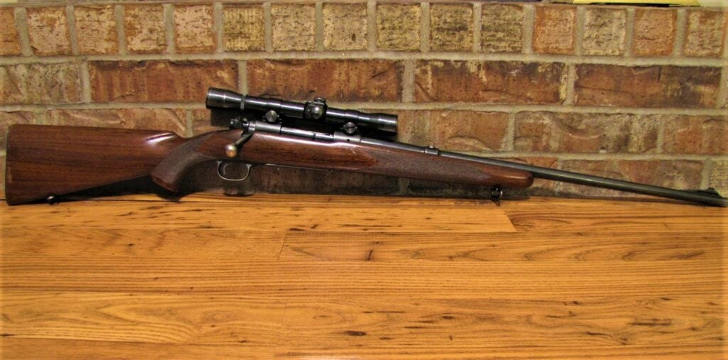 Winchester Model 70.