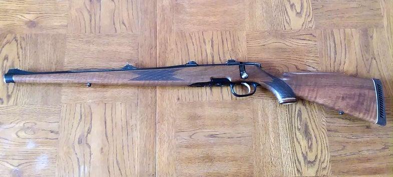 vintage stery mannlicher rifle