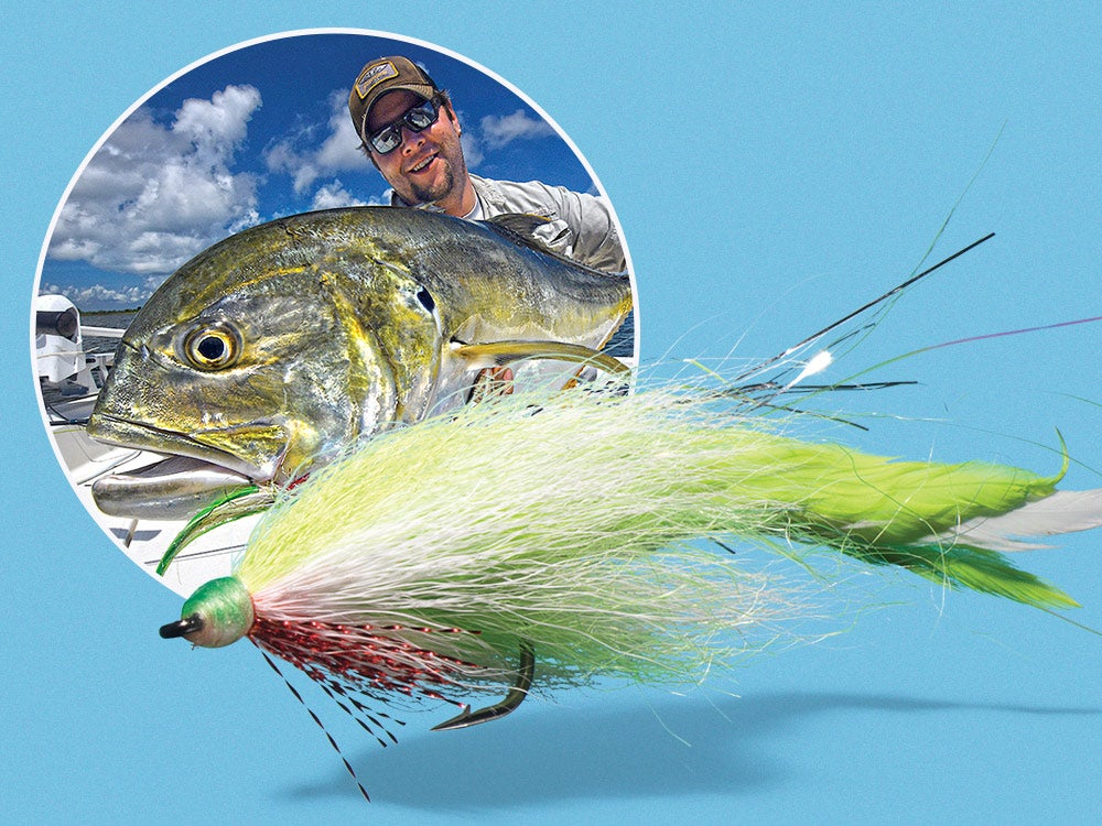 jack crevalle flyfishing dredge