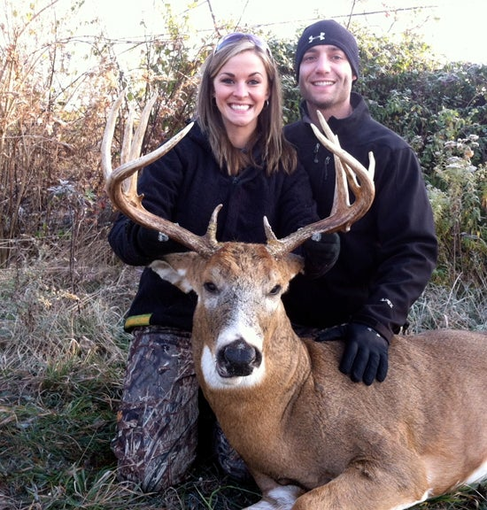 Married Ohio Couple Works Together to Tag Big Bucks