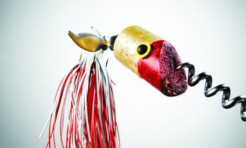 How to Make a Fishing Lure Out of a Wine Cork