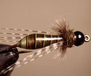 """Step-by-Step Photo Instructions on How to Tie """"Banksia Bug"""" Fly"""