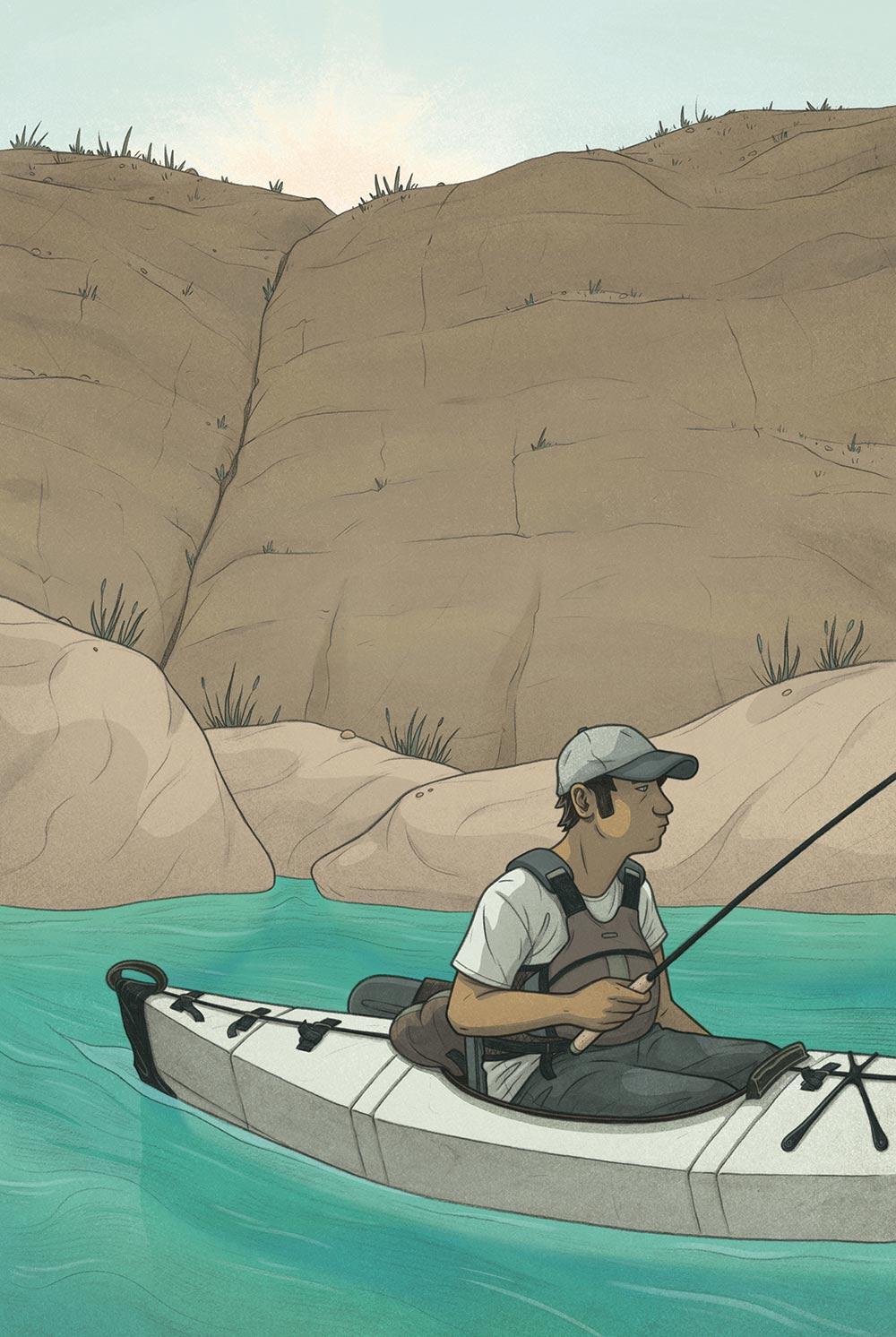 fishing, total outdoorsman, kayak fishing, t. edward nickens, max temescu