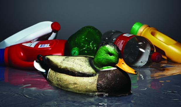 How to Make a Jug Line from Duck Decoys