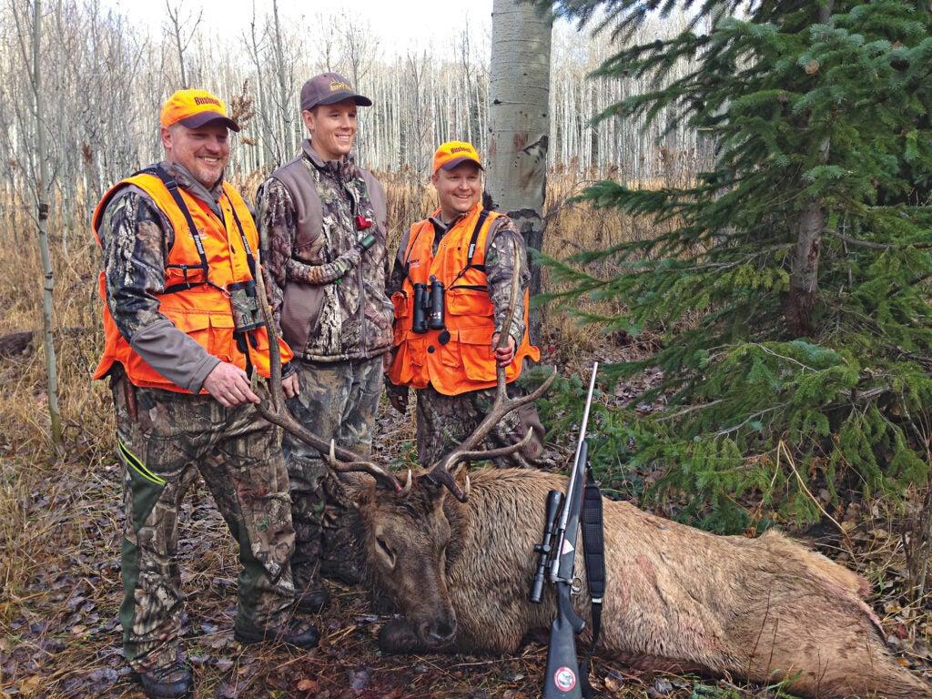elk hunting on public land
