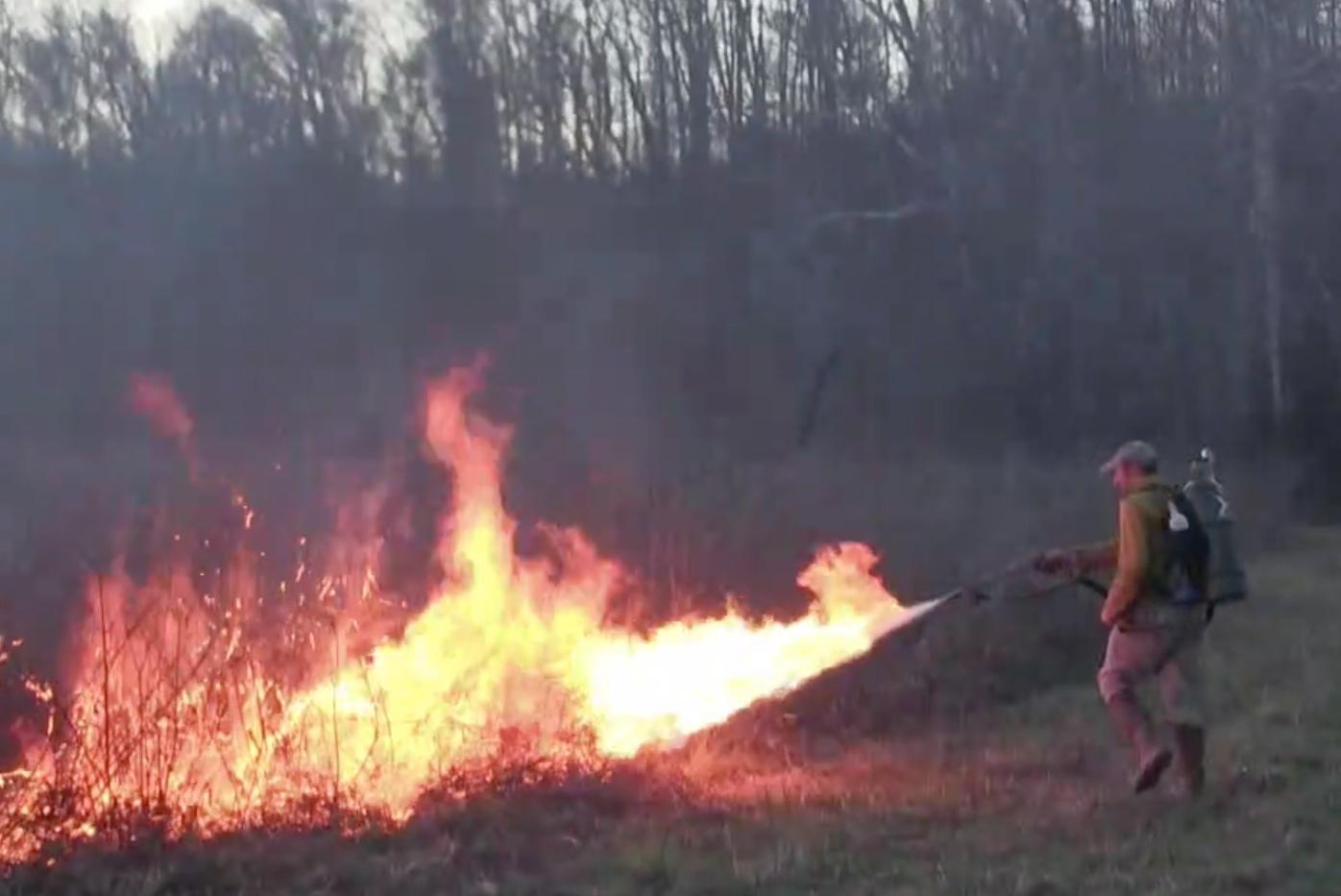 Testing the X15 Flamethrower