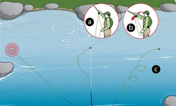 How to Perfectly Mend Your Fly Line