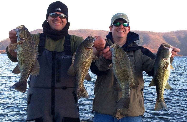 Fishing A Mix-Bag Lake In Winter? Make Smallmouths Your First-Choice Targets