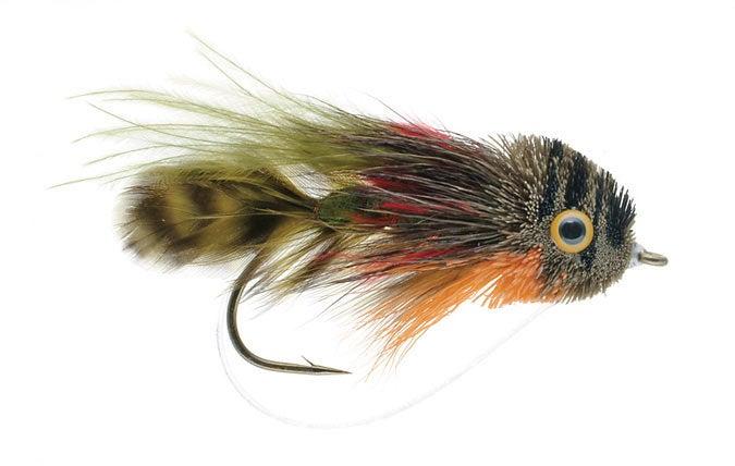best bass flies, deerhair sunfish