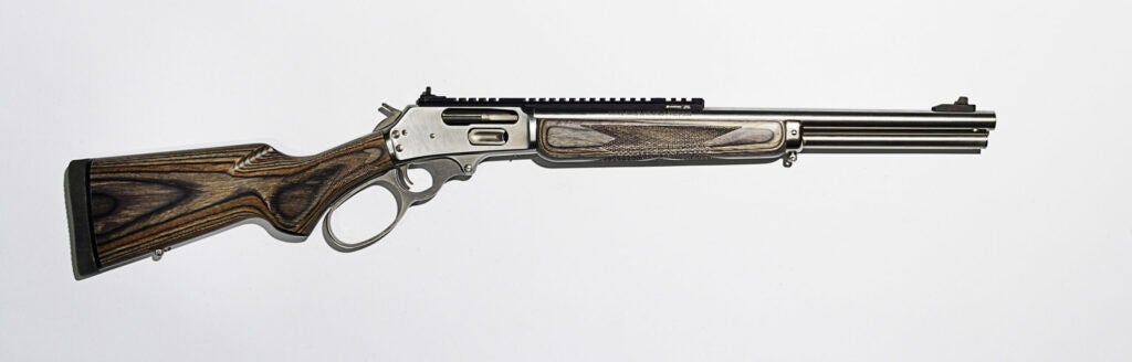 Marlin Model 1895 on a white background.