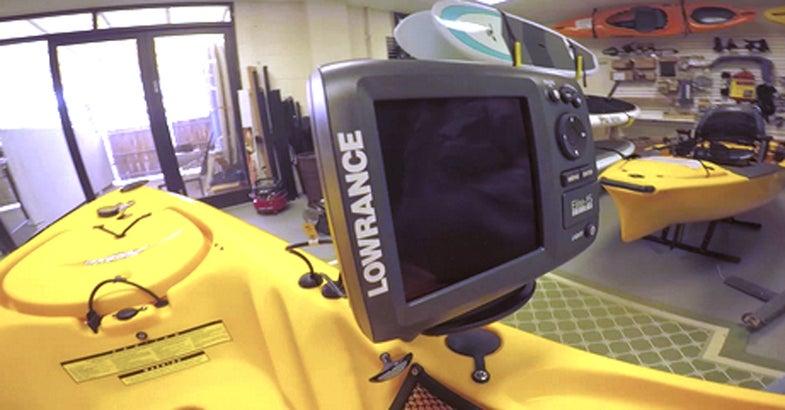 Fishfinder for a Kayak: Installation Tips