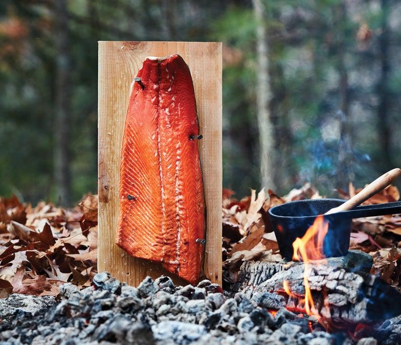 Recipe: Salmon on a Plank