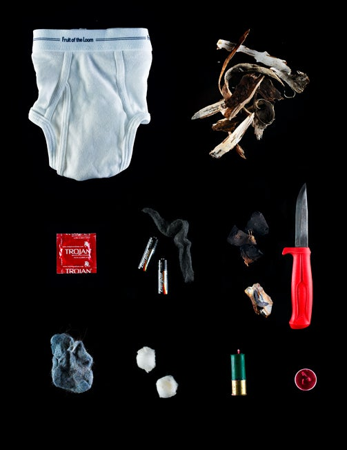 Build A Survival Fire With Condoms and Underwear