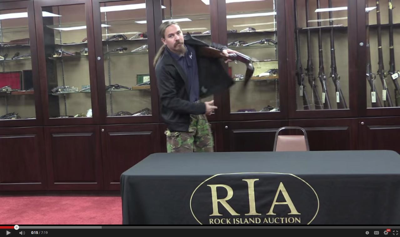 Video: The Burgess Folding Shotgun