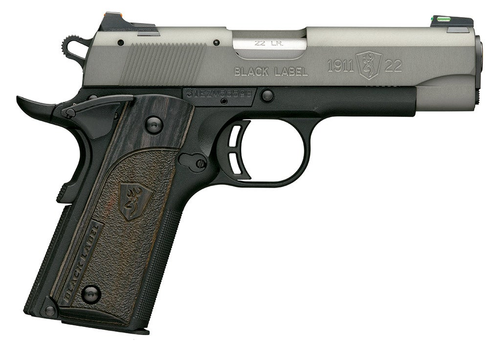Browning 1911-2 Black Label Grey Compact
