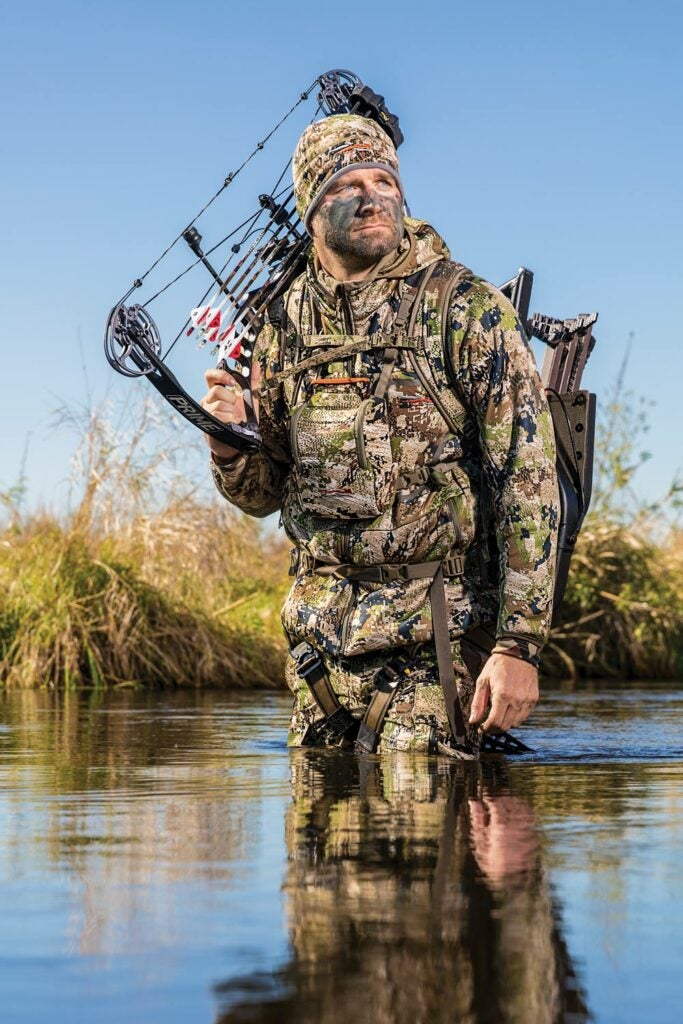 tony peterson bowhunting swamp public land