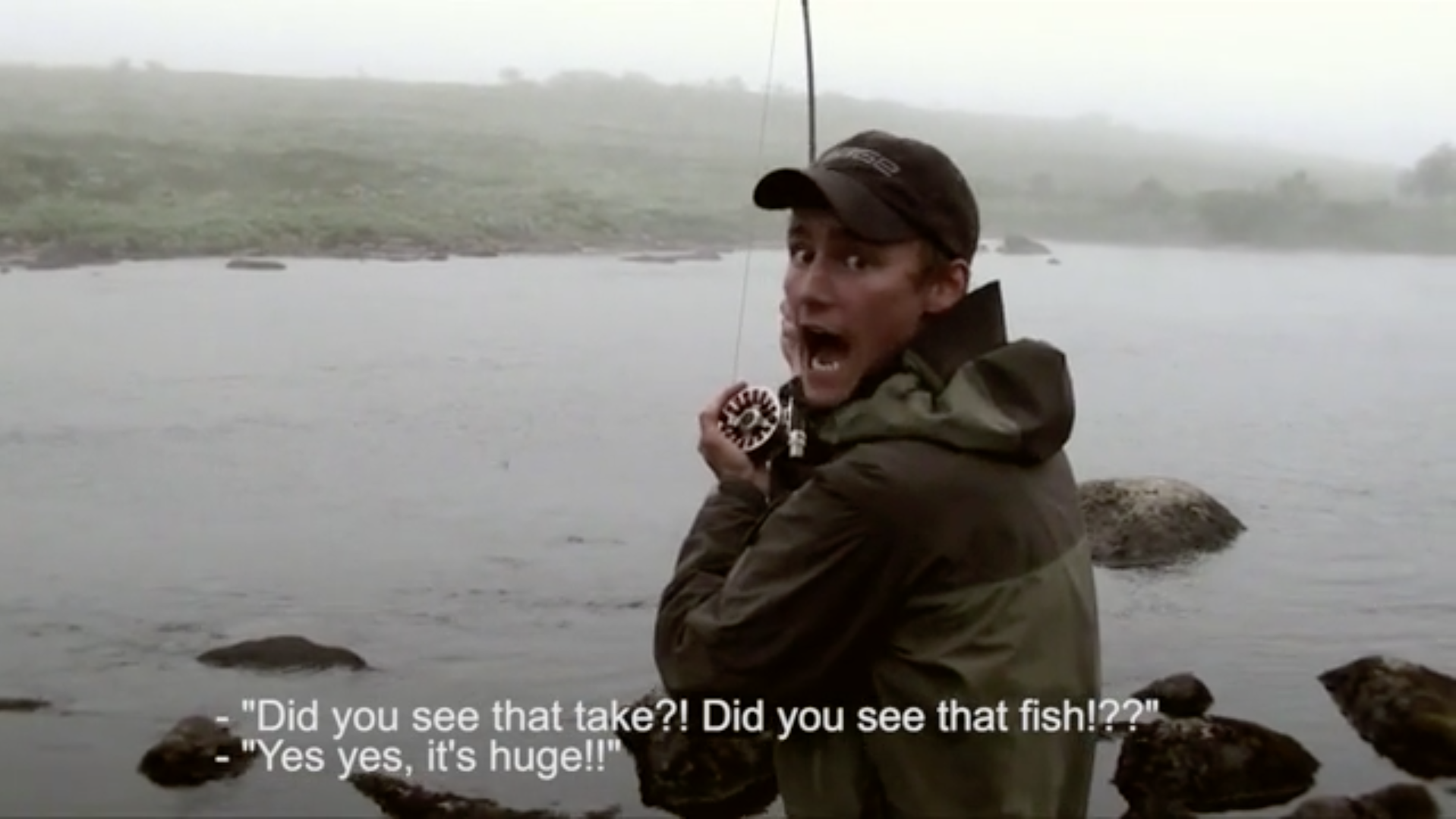 One Insane Dry Fly Eat. One Hysterical Reaction