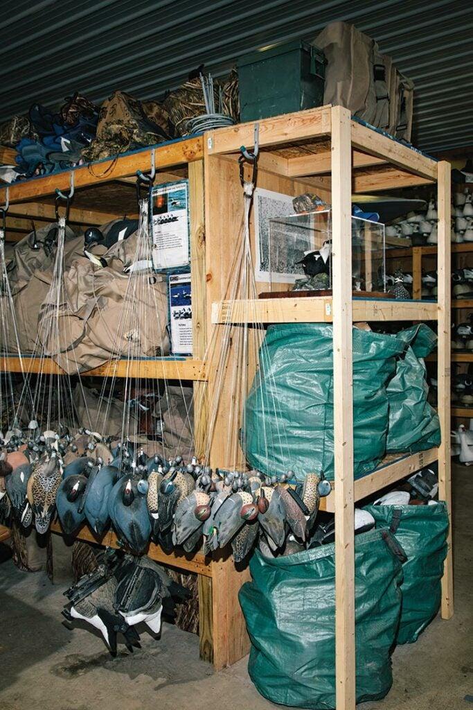 Mike Bard's organized waterfowl gear