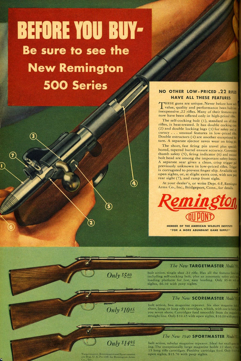 Great Gun Ads of the 40s and 50s