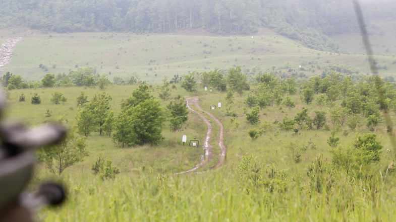long-range shooting, field & stream rifle test, West Virginia, Richard Mann