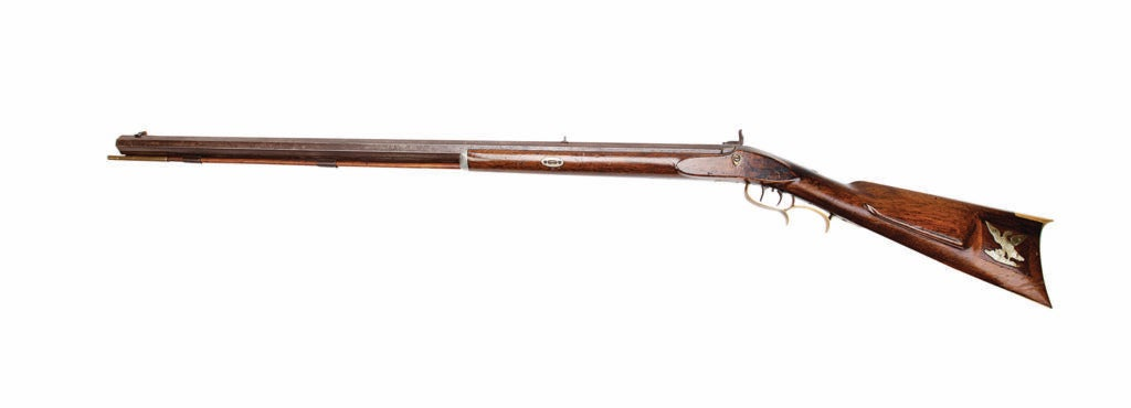 The Hawken Rifle on a white background.