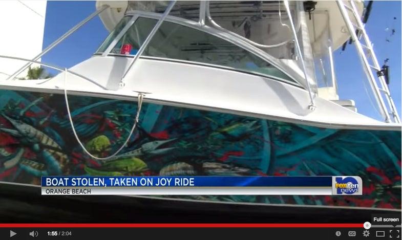 Party Animals Destroy Half-Million Dollar Sportfisher During Joyride