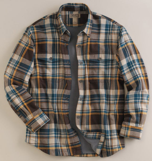 duluth flannel long sleeve t shirt