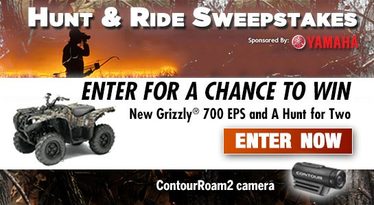 How to Win a New Grizzly ATV and a Whitetail Hunt