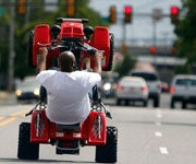 Riding on City Streets Gives ATV Drivers a Bad Name