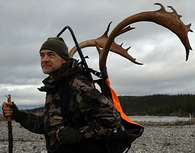Hunting barren lands caribou with Bill Heavey