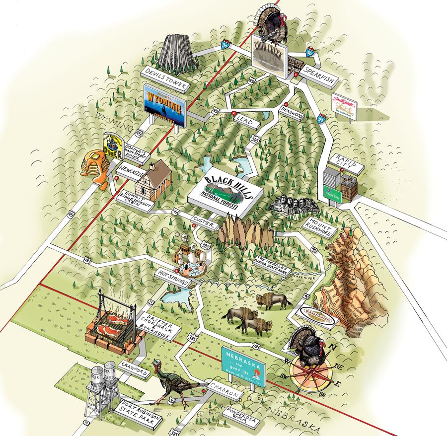 Merriam's Marathon: Plan a Turkey Hunting Road Trip