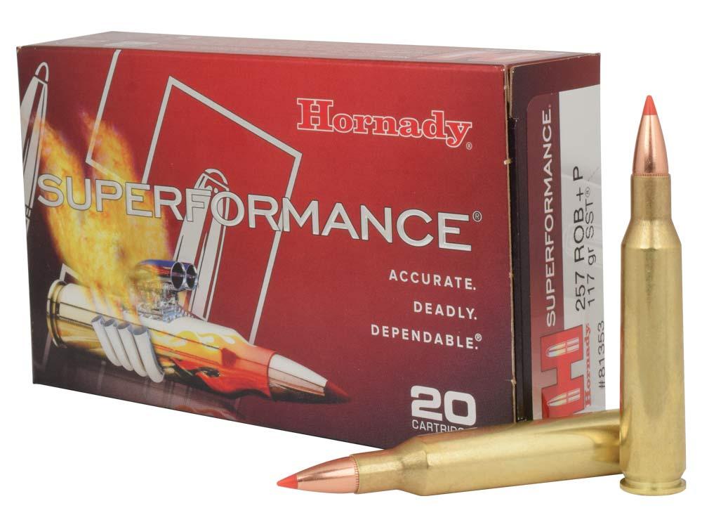 hornady 257 roberts p rifle ammunition