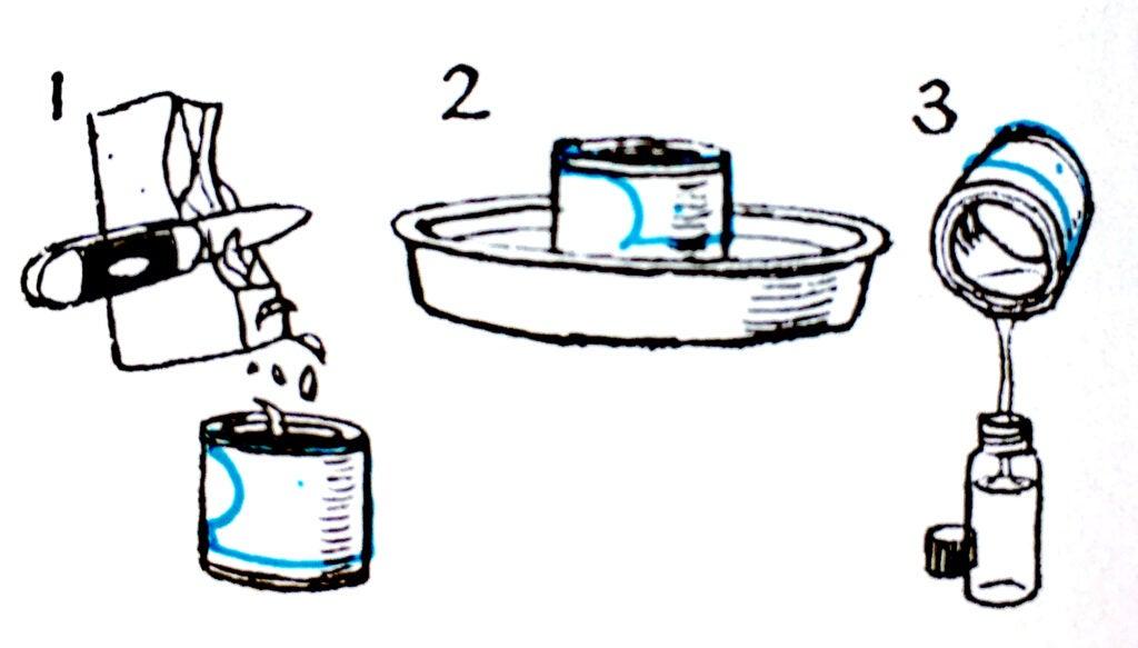 DIY dry-fly floatant