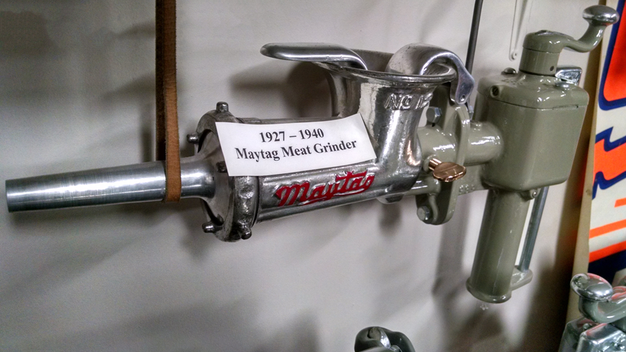 Old School Gear: The Maytag Washing Machine Meat Grinder